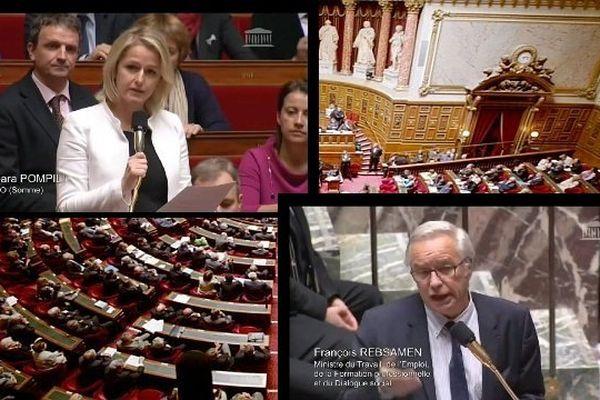 Question au gouvernement de Barbara Pompili l'emploi et l'handicap
