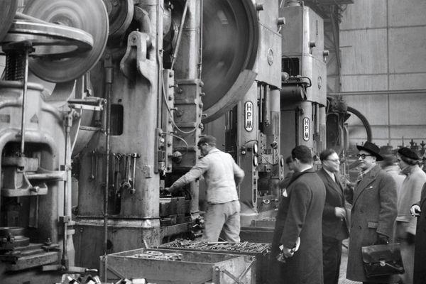 L'usine Alsthom dans les années 30