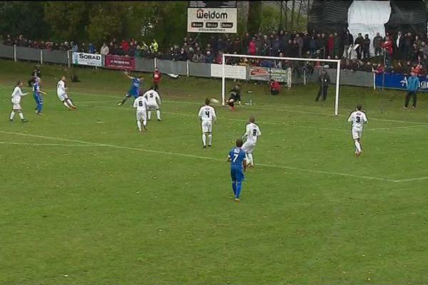 Match entre Douarnenez et Lorient ce samedi 11 novembre