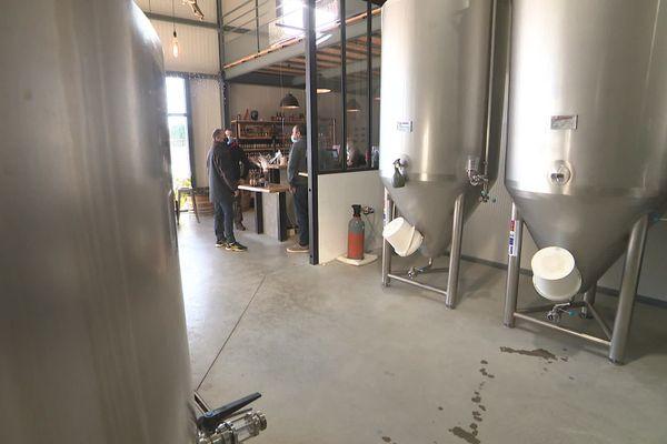 La brasserie La Canya à Saint-André, dans les Pyrénées-Orientales a pu résister à la crise grâce à l'aide de la Région - décembre 2020