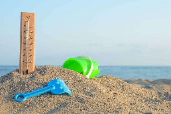 Les températures ont dépassé les 40°C localement samedi.