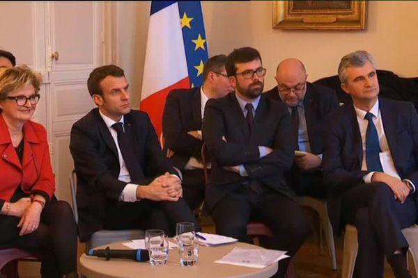 Emmanuel Macron rencontre les élus de Saône-et-Loire jeudi 7 février 2019