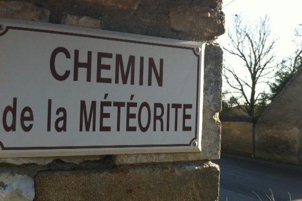 Dans ce reportage, vous apprendrez que des météorites aussi sont tombées dans la région.