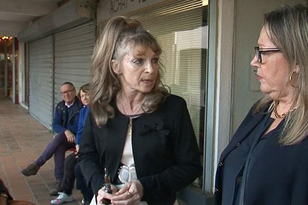 Irina Kortanek (gauche) et Clotilde Font, deux anciennes élues du Front national dans les Pyrénées-Orientales - 15 avril 2016