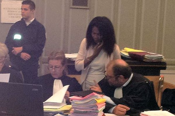 Perpignan : Diane Mistler à l'audience et ses conseils - 22 octobre 2012.