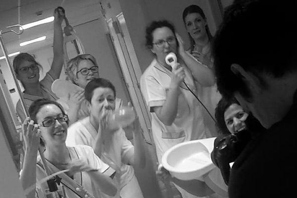L'équipe de soins palliatifs de l'Hôpital de la Châtaigneraie