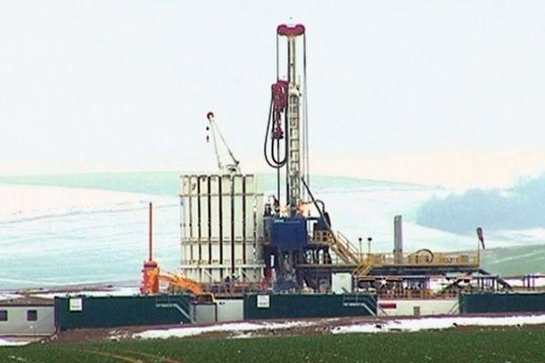 Site de recherche et de prospection d'hydrocarbures