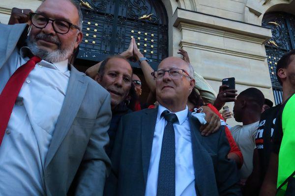 Patrick Chaimovitch le 28 juin 2020 lors de sa victoire aux municipales à Colombes.