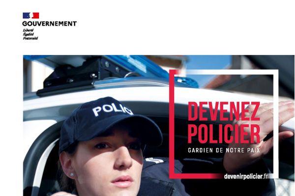 La police nationale recrute des adjoints de sécurité