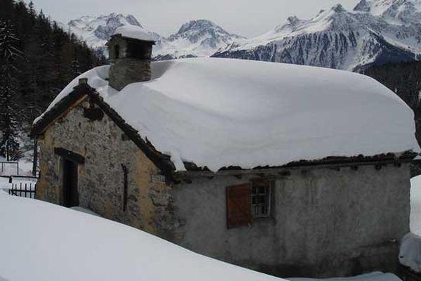 aux portes du parc de la Vanoise à 1770 mètres - 21 mars 2013