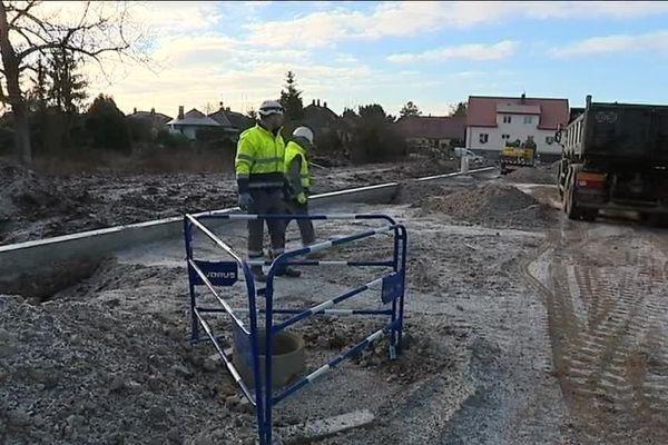 De nombreux chantiers seront à l'arrêt en raison du gel... pour ceux qui travaillent quand même, un conseil : bougez!
