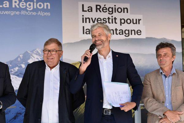 Laurent Wauquiez annonce une aide de près de 3 millions d'euros pour les petites et moyennes stations de montagne