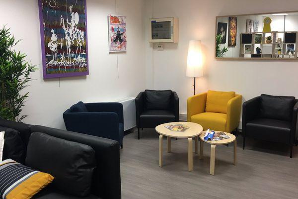 14/02/2017 - Un espace dédié aux malades corses en déplacement à l'aéroport de Marignane est désormais ouvert.