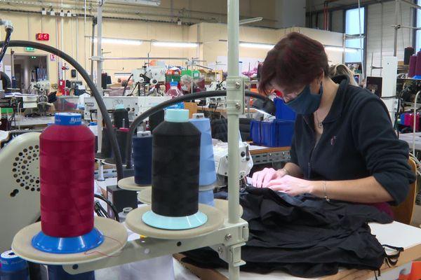 L'atelier d'Indiscrète emploie 23 couturières à Chauvigny