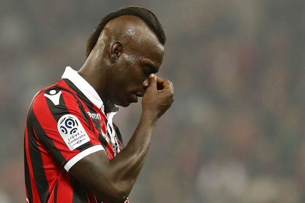 Mario Balotelli a évolué à l'OGC Nice pendant deux saisons et demie.
