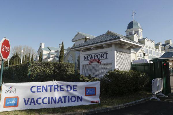 Un nouveau centre de vaccination à Disneyland Paris