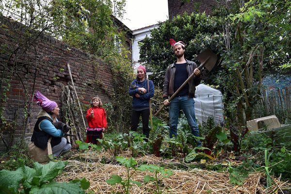 Au Jardin de (re)trouvailles, le tout premier jardin partagé créé à Lille et en France.