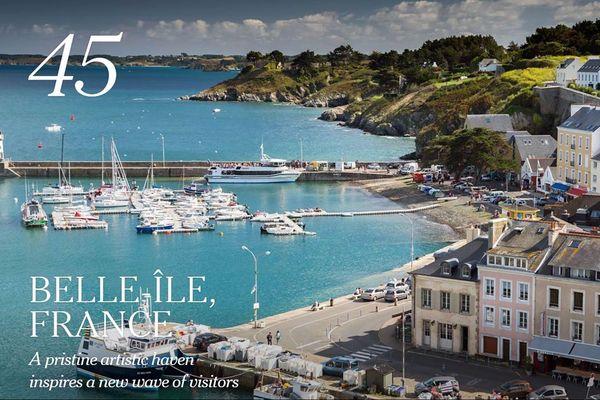Belle-Ile, une des plus belles destinations touristiques au monde pour le New York Times