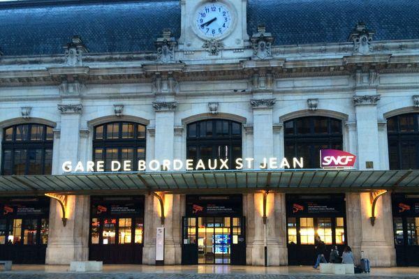 Le grand calme à la Gare St-Jean de Bordeaux pour ce premier jour de grève