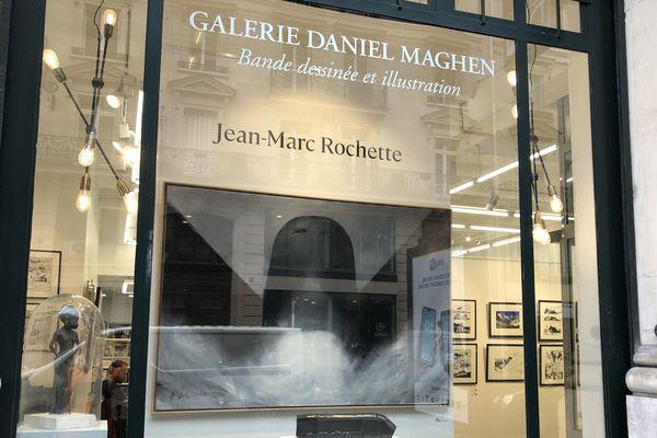Rétrospective Jean-Marc Rochette à la galerie Daniel Maghen - Paris 1er