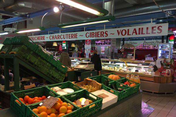 Le marché couvert de Besançon