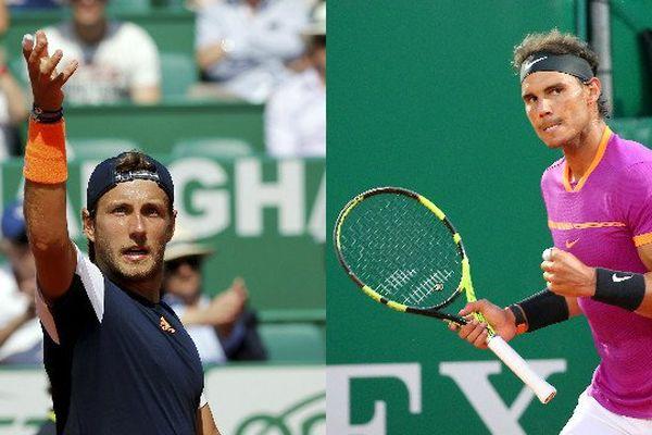 L'Espagnol Rafael Nadal, tenant du titre, a rejoint son compatriote Albert Ramos (à gauche) en finale !