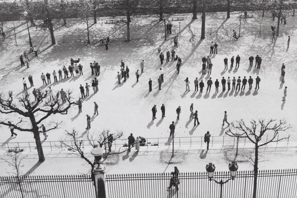 Jardin des Tuileries, 1974 Collection du musée Carnavalet – Histoire de Paris