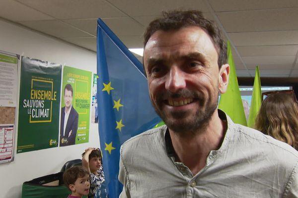 Le secrétaire EELV de Lyon réagit aux bons scores de son parti
