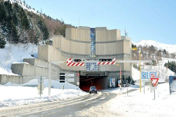 Entrée du tunnel du Puymorens