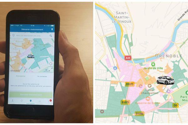 L'application ParkNow est déployée depuis quelques jours à Grenoble.