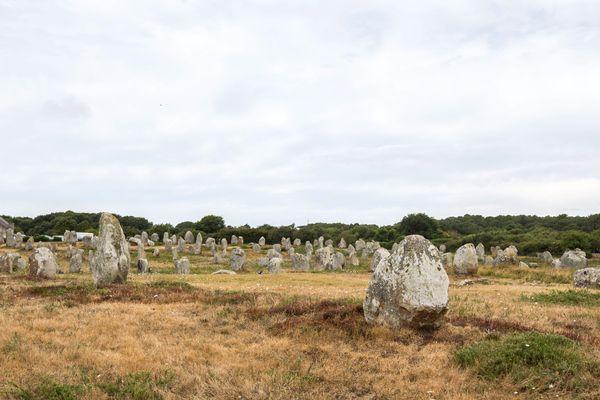 Le site d'alignements mégalithiques de Carnac