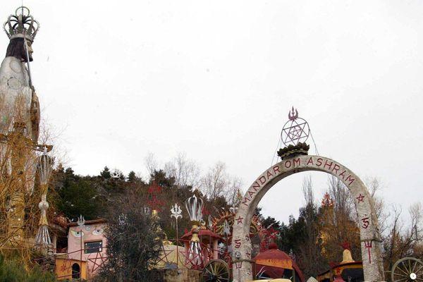 Le monastère du Mandarom a été fondé en 1969 à Castellane.