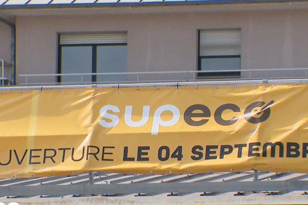 "Le futur magasin ""Supeco"" à Valenciennes"