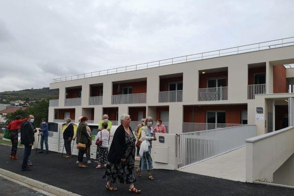L'inauguration de la résidence Simone Veil a eu lieu lundi 21 septembre à Romagnat, près de Clermont-Ferrand.