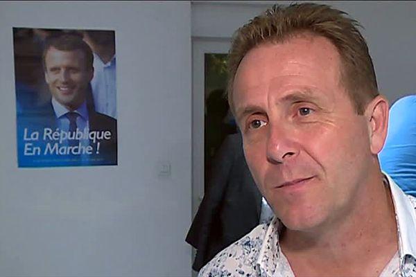 Olivier Gaillard, maire de sauve