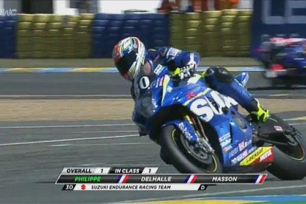 Vincent Philippe aux 24 heures du Mans édition 2015