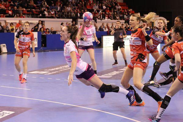 Les filles de l'ESBF se sont inclinées face à Nantes dans les dernières minutes du match.