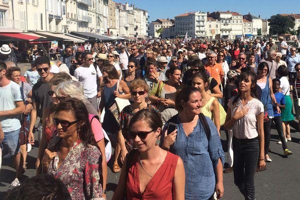 A La Rochelle, près d'un millier de manifestants pour la marche pour le climat