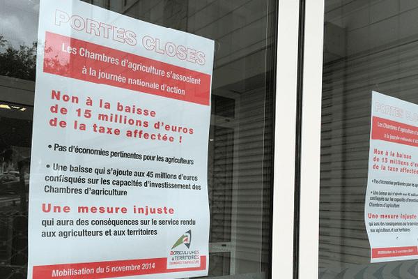 En Haute-Corse comme en Corse-du-Sud, les Chambres d'agriculture sont fermées ce mercredi.