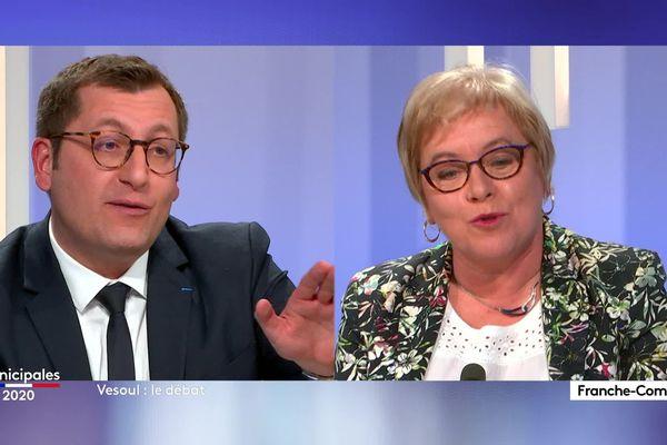 Alain Chrétien - Marie-Dominique Aubry