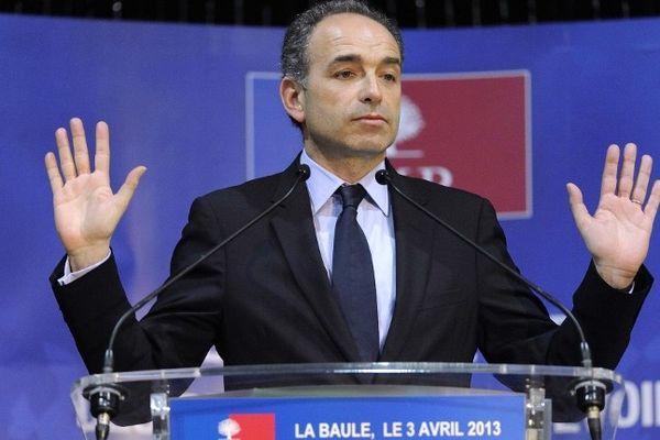 Jean-François Copé en meeting à La Baule, le 03  avril 2013