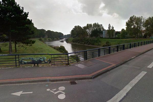 Le cadavre de la victime a été repêché dans le canal exutoire de Dunkerque.