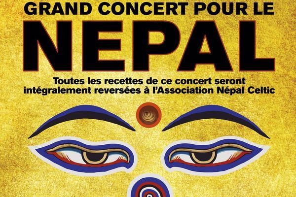 Tri Yann, Christian Descamps et Exaclibur d'Alan Simon en solidarité avec le Népal