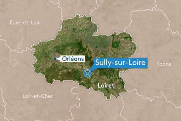 Sully sur Loire dans le Loiret