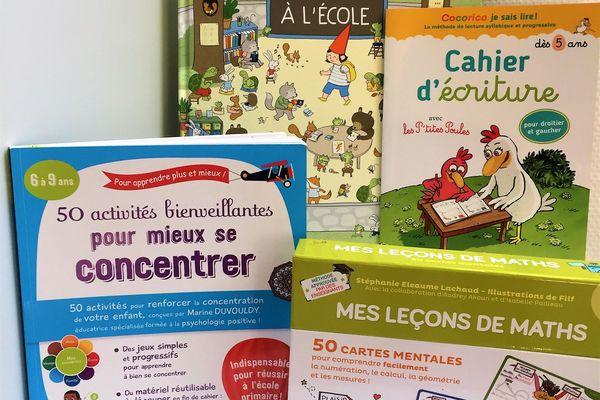 Sélection de livres éducatifs pour les enfants pour la rentrée scolaire