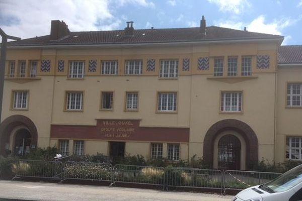 Ecole Jean Jaurès à Oissel près de Rouen.