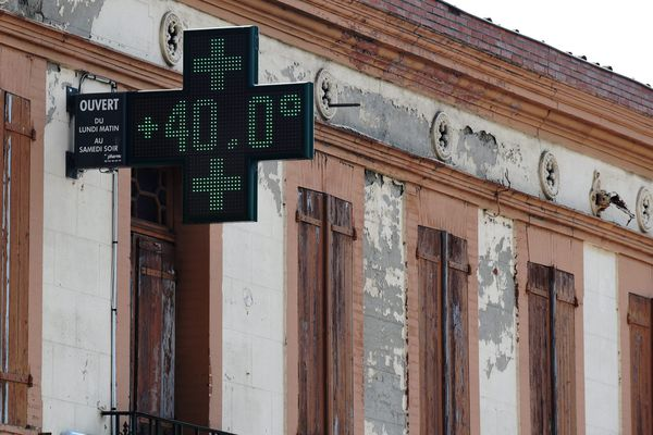 Dans le courant la journée, la température à Toulouse a atteint les 40.2°. Du jamais vu depuis 1947.