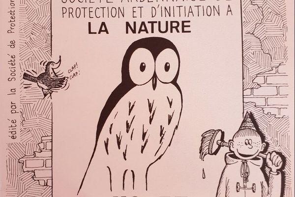 Dès l'année 1973, Pierre Déom se consacre entièrement à la Hulotte, et le magazine passe en A5