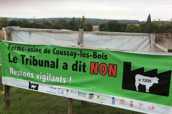 Les habitants continuent de s'opposer au projet d'une ferme de 1200 taurillons à Coussay-kes-Bois (86)