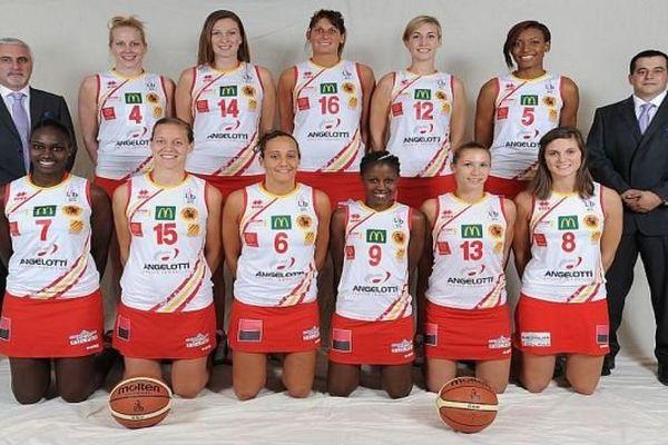L'équipe du Perpignan Basket - archives
